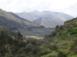 View on our walk back from Tambomachay to Cusco