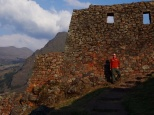 At the top of Pisac