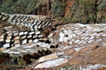 Saltflats of Maras have been used since the time of the Incas.