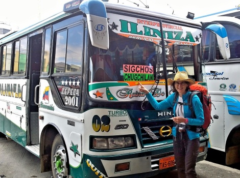 The bus to Chugchilan