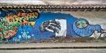 VOTE, one of dozens of street art.