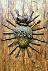 church door detail